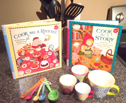 Cook Me a Rhyme and Cook Me a Story Children's Books