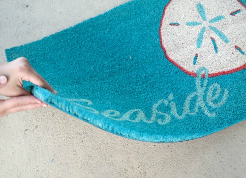 Seaside Sand Dollar Doormat from Doormat from Entryways