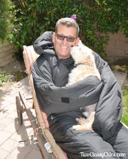 Selk'bag is the Wearable, Warm Sleeping Bag
