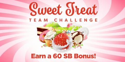 Sweet Treat Team Challenge at Swagbucks