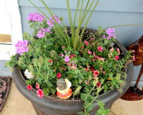 Large Front Door Flower Planter