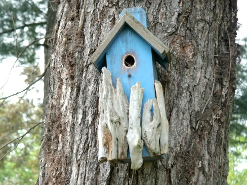 Handcrafted Birdhouse by Birdhouses by Michelle