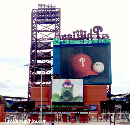 Phillies Baseball Game in Philadelphia