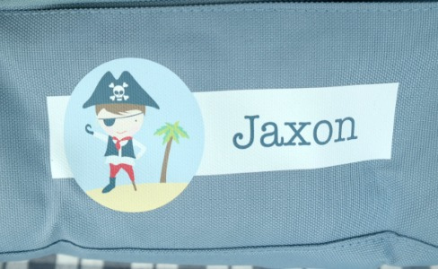 Personalized Kid's Lunch Bags from Stuck on You