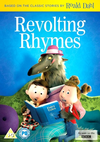 Revolting Rhymes Classic Fairy Tales with Mischievous Twist DVD