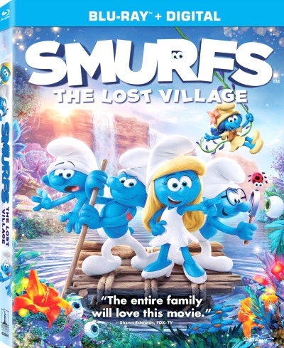 Smurfs: The Lost Village Movie DVD + Giveaway