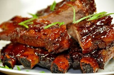Sticky Teriyaki Pork Ribs Recipe