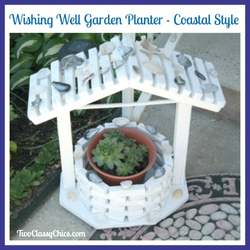 DIY Project: Wishing Well Garden Planter – Coastal Style