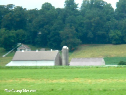 Amish Farms and Barns in Lancaster County Pennsylvania