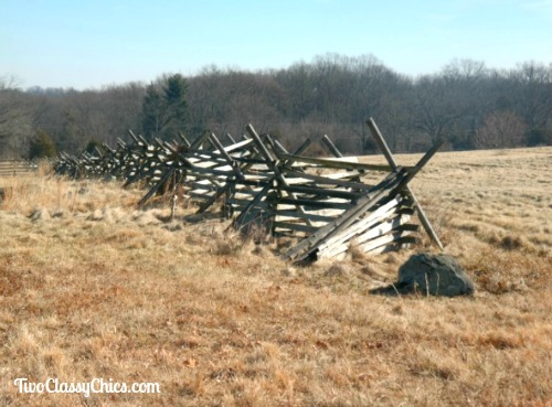 The Historic Gettysburg Battlefield in Pennsylvania