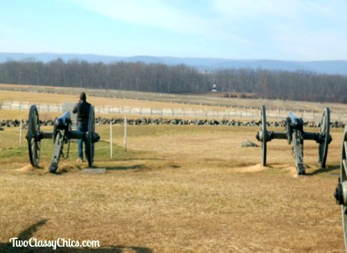 The Historic Gettysburg Battlefield in Pennsylvania