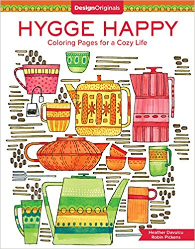 Hygge Happy Coloring Pages for a Cozy Life