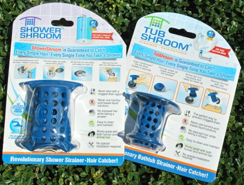 No More Clogged Drains with TubShroom and ShowerShroom