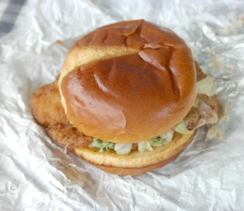 Buffalo Dunked Ultimate Chicken Sandwich