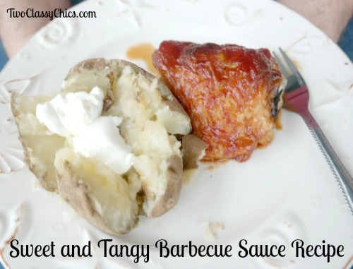 Sweet and Tangy Barbecue Sauce Recipe