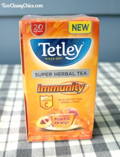 Tetley Herbal Peach & Orange Tea