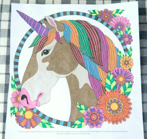 Unicorns, Mermaids and Other Mythical Creatures Coloring