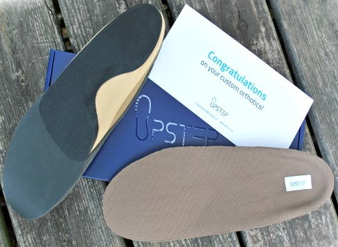 Upstep Custom Orthotics are a Comfortable, Affordable Solution