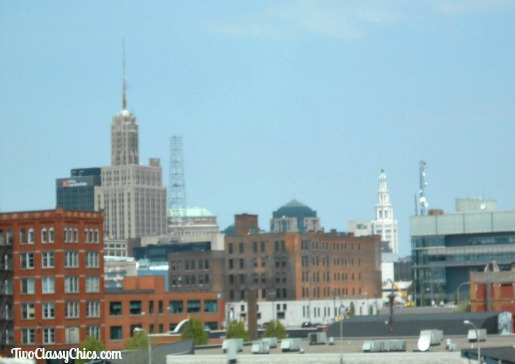Buffalo New York - City Skyline