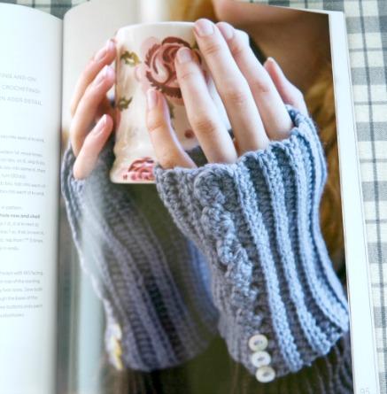 How to Crochet Book - Fingerless Gloves
