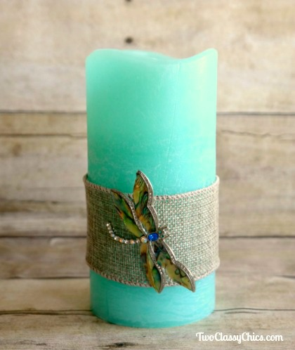DIY Craft Project - Decorating Flameless Candles