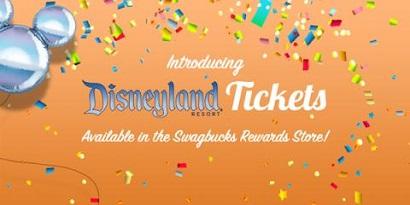 Get FREE Disneyland Tickets on Swagbucks