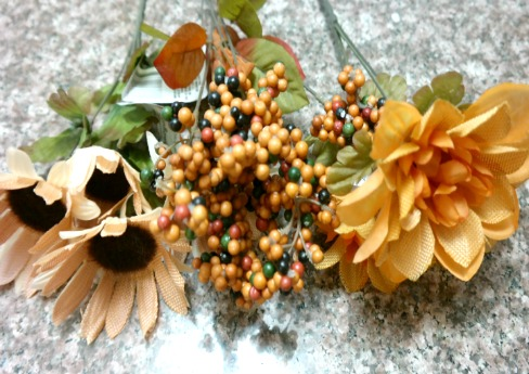 Fall and Autumn Silk Flowers