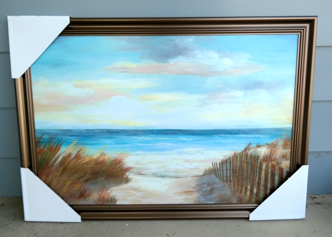 Ocean and Beach Framed Artwork