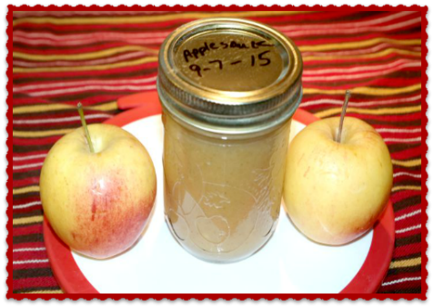 Home Canning – Creamy Cinnamon Applesauce Recipe