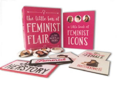 The Little Box of Feminist Flair
