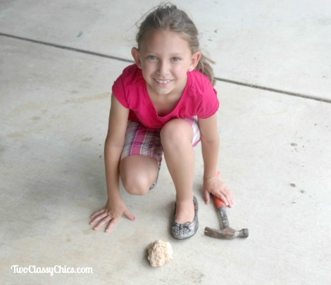 Kid's Crafts: Learning About Rocks and Minerals with Geodes