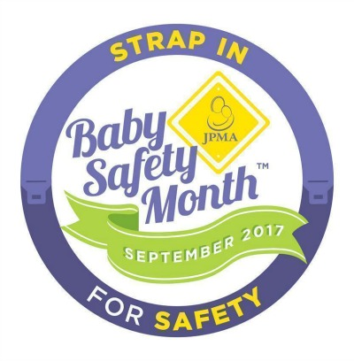 Strap In baby safety month