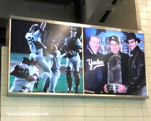 Baseball Game Fun at Yankee Stadium