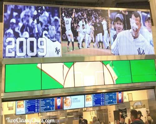 Yankee Stadium in New York
