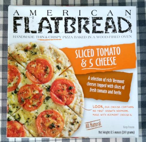 American Flatbread Sliced Tomato & 5 Cheese Pizza