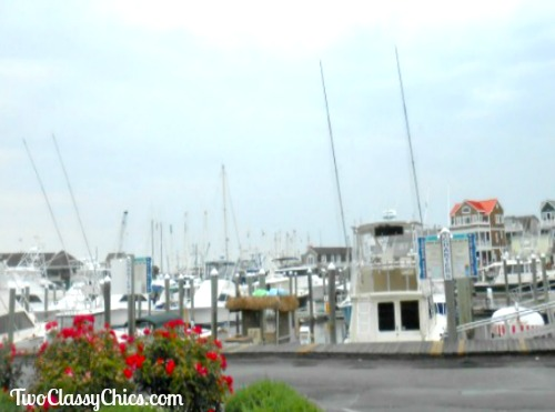 Cape May Harbor with Boats