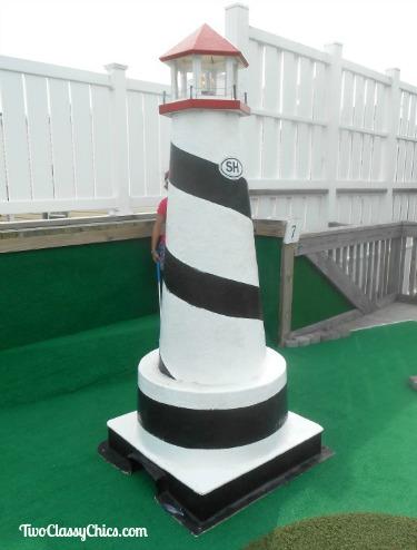 Club 18 Miniature Golf in Stone Harbor