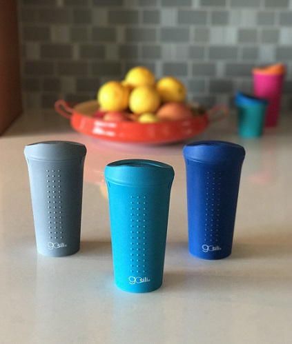 All Silicone Reusable To-Go Coffee Cup