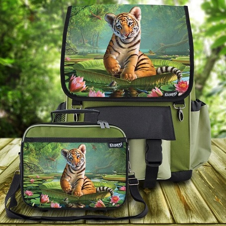 Kid's Interchangeable Backpacks and Lunchboxes from Kidaroo