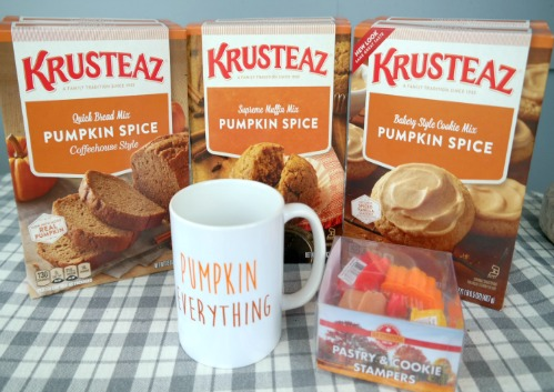 Fall Baking with Krusteaz Pumpkin Spice Mixes