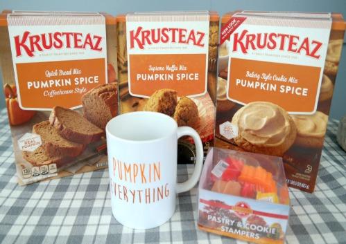 Fall Baking with Krusteaz Pumpkin Spice Mixes