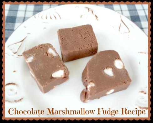 Easy Chocolate Marshmallow Fudge Recipe
