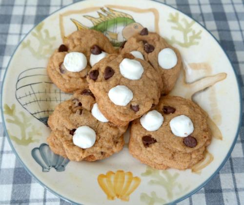 Krusteaz Pumpkin Spice Mixes with Pumpkin S'mores Cookies Recipe