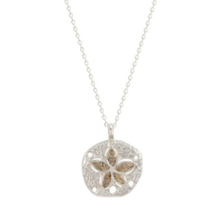 Sand Dollar Necklace - Dune Jewelry