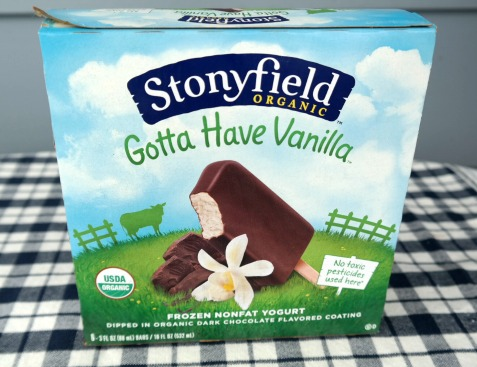 My New Sweet Treat – Frozen Nonfat Yogurt Bars