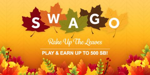 Get More Free Gift Cards During October Swago Spin & Win