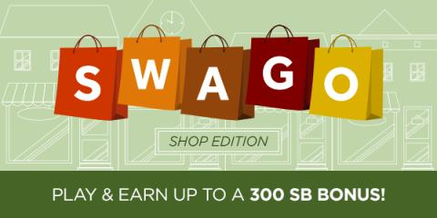 Swagbucks SWAGO Shopping October Promotion