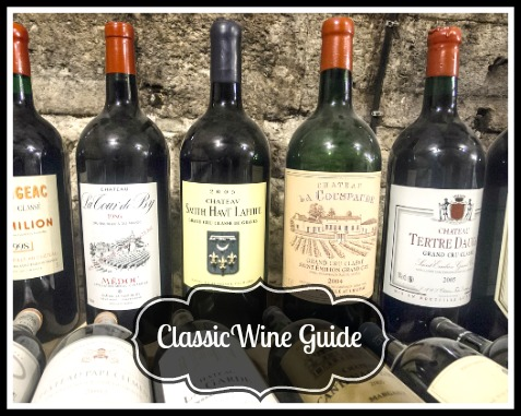 Classic Wine Guide for the Holidays
