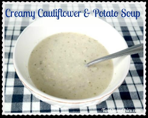 Creamy Cauliflower and Potato Soup Recipe