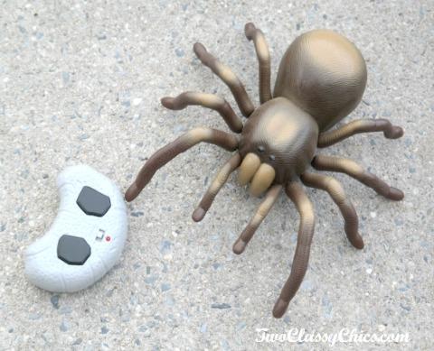 Discovery RC Tarantula with Lifelike Movement and Glowing LED Eyes